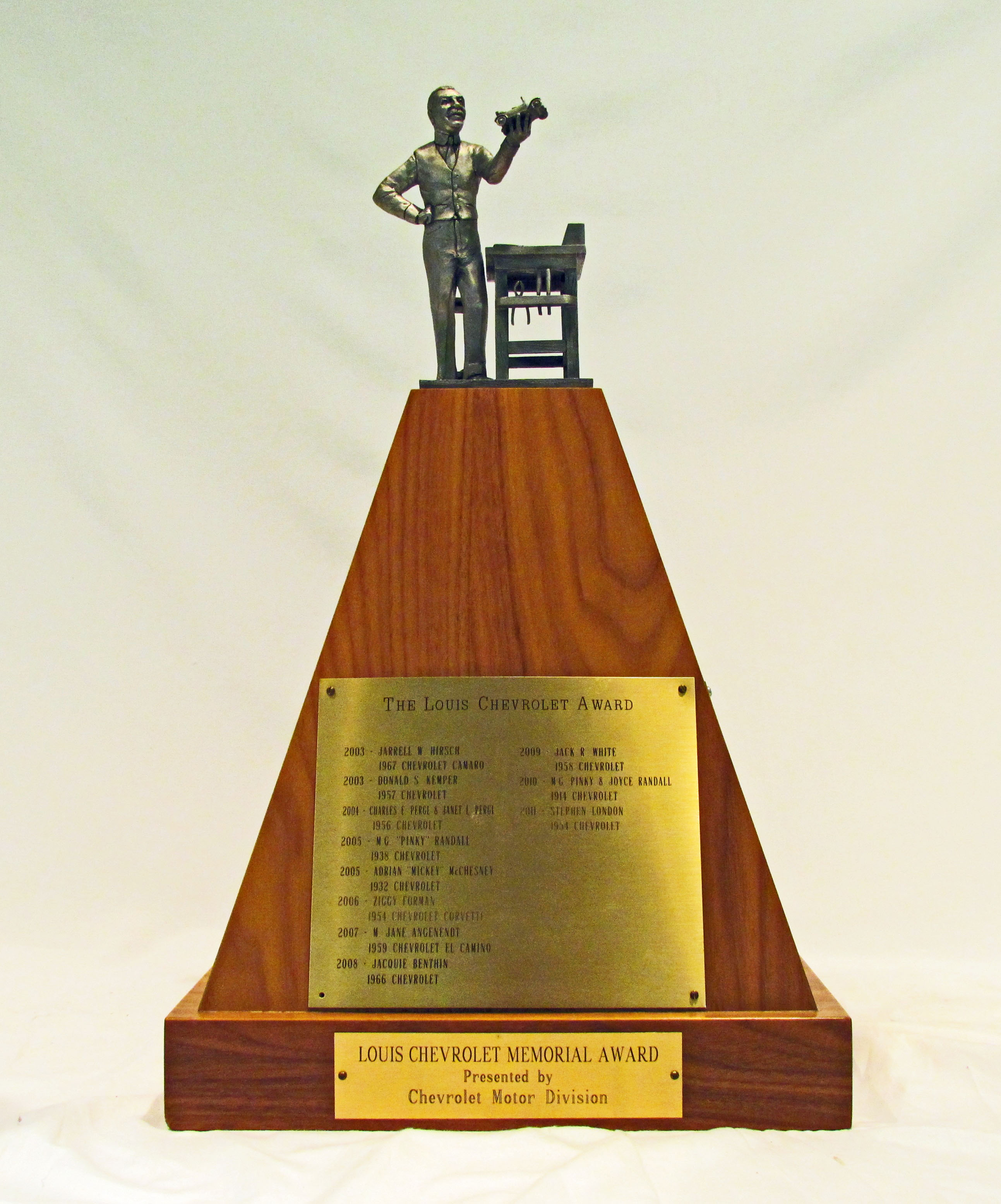 louis chevrolet memorial award