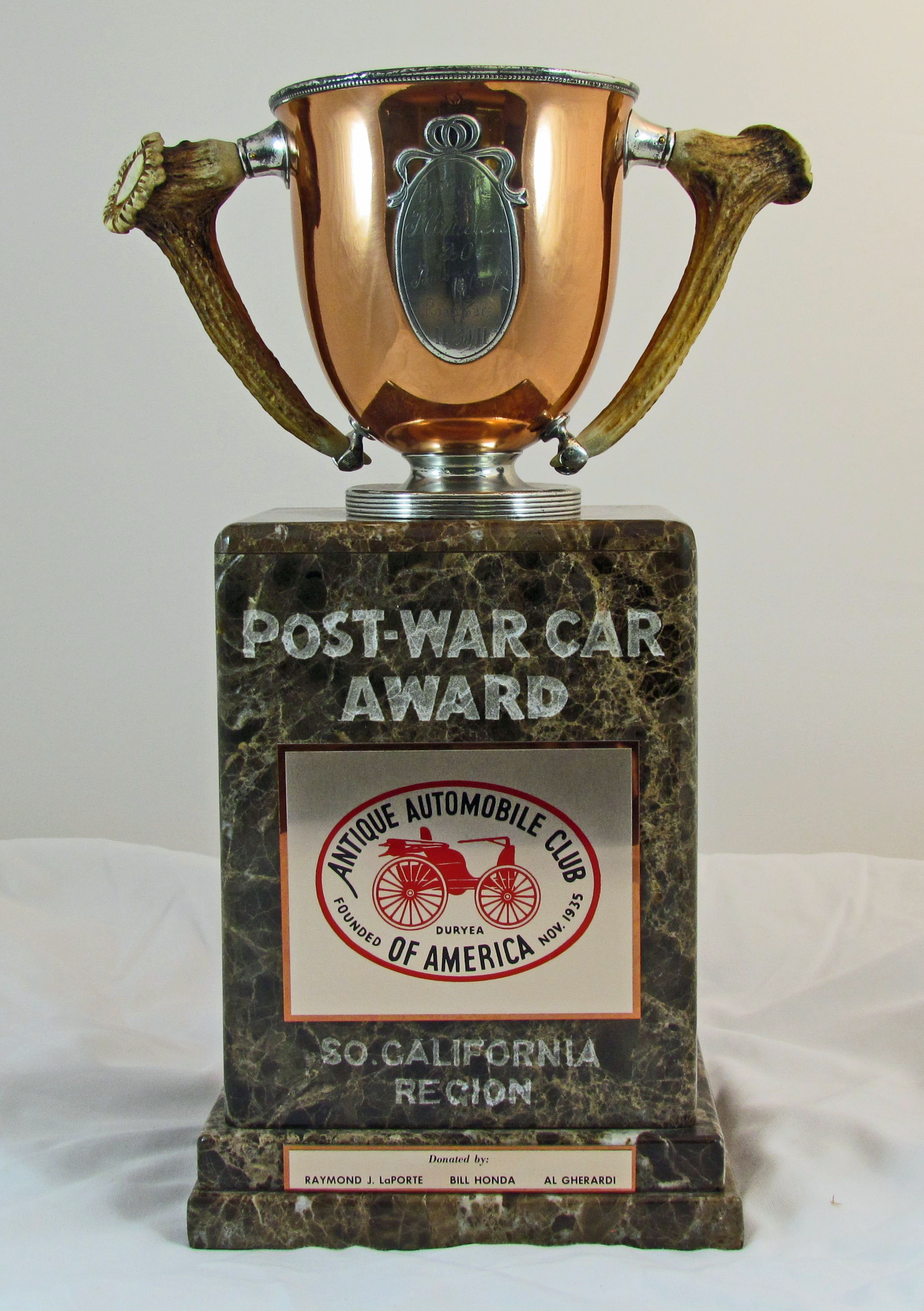 post war car award