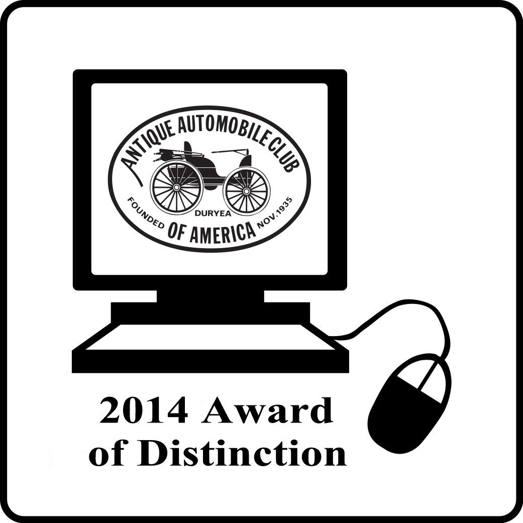 2014 Web Award of Distinction