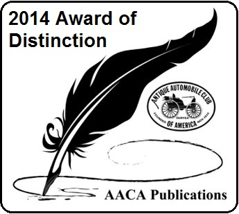 2014 Editor Award of Distinction