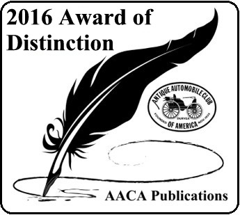 2016 Editor Award of Distinction
