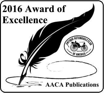 2016 Editor Award of Excellence