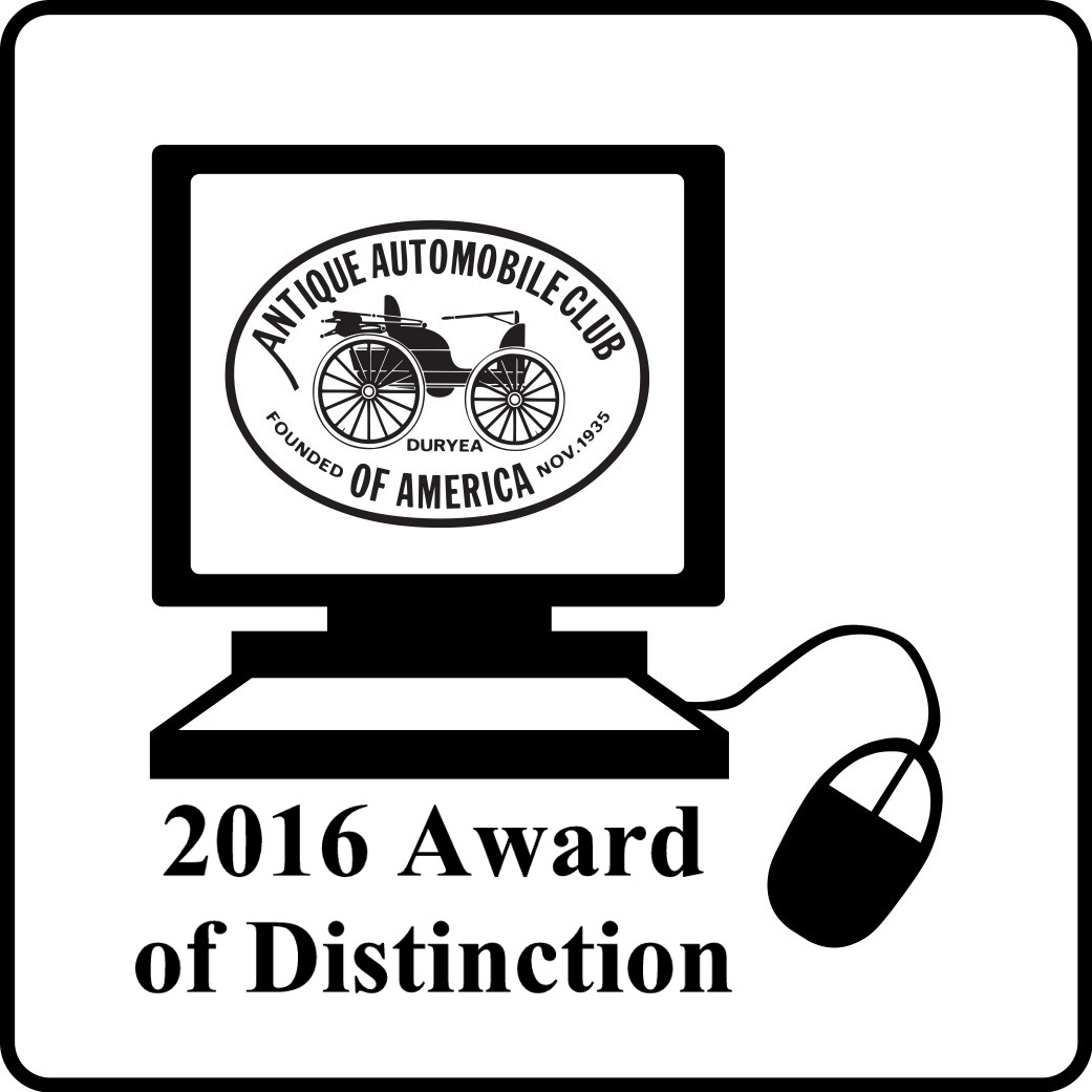 AACA 2016 Award of Distinction